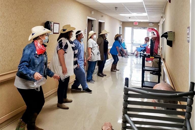 Life Care Center of Hendersonville celebrates Western Day
