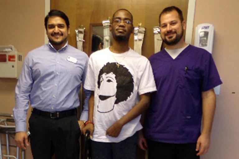 Va'Shaun Adams finds success in rehab at Life Care Center of Kansas City