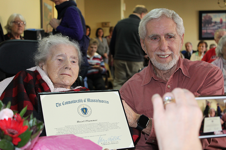 Life Care Center of Nashoba Valley resident celebrated as oldest in state