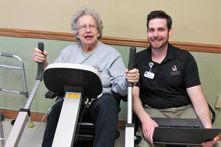 Heart attack survivor gets new lease on life at Life Care of Banner Elk