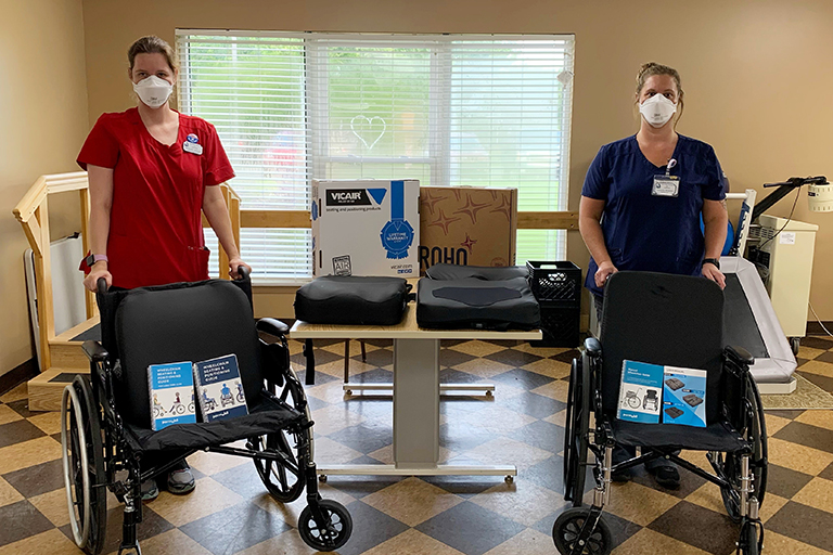 Positioning tools positively impact patient at Life Care Center of LaGrange