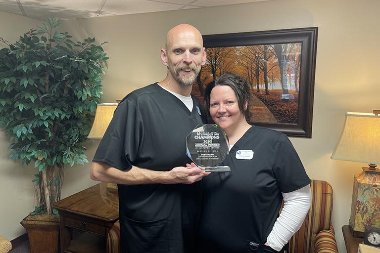 Life Care Center of Banner Elk nurse wins Eastern Division service award