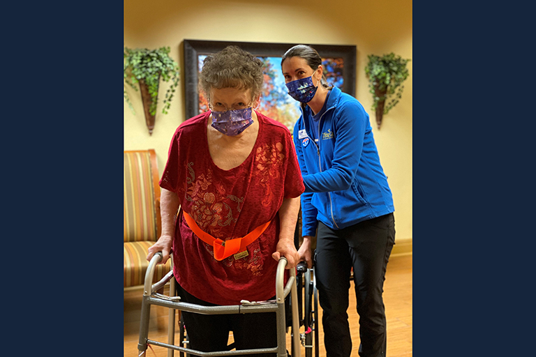 """Life Care Center of Cheyenne resident's health journey a """"miracle"""""""