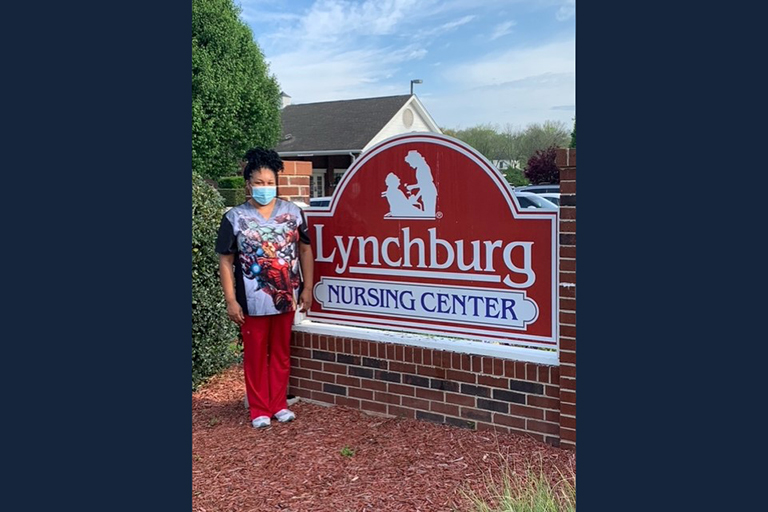 Local paper names Lynchburg Nursing Center CNA county's finest