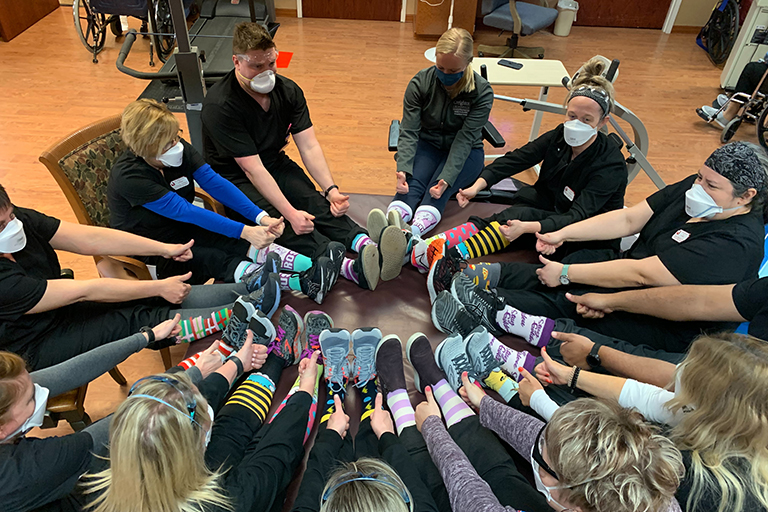 Life Care of Elkhorn celebrates World Down Syndrome Awareness Day