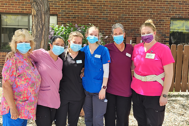 Life Care CNAs share why they love their job