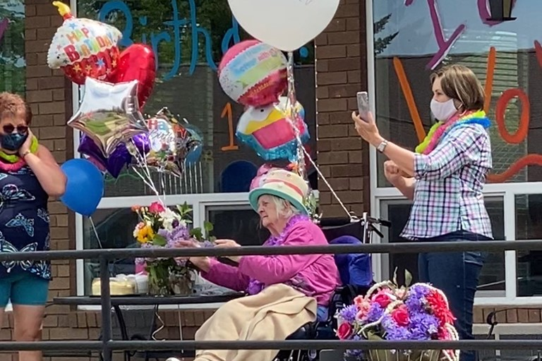 Violet Watson turns 101 at Life Care Center of McMinnville