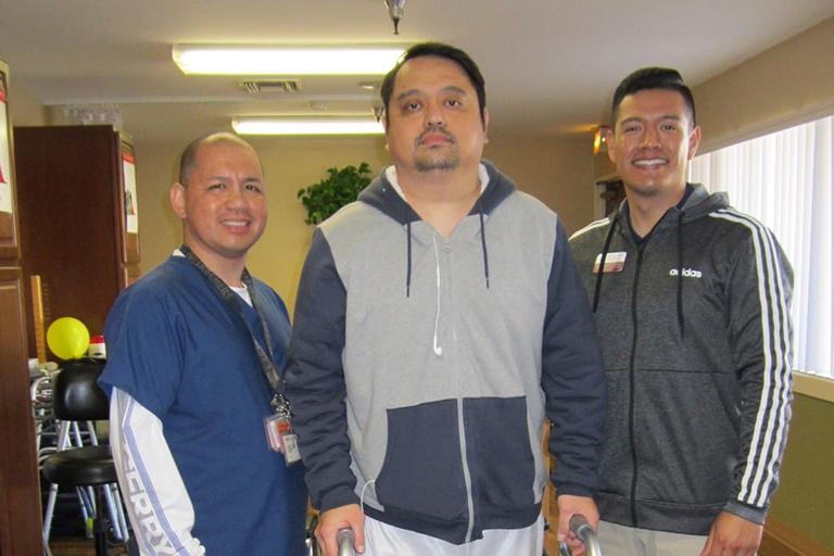 La Habra Convalescent Hospital helps stroke patient recover function