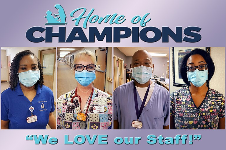 Life Care Center of Sierra Vista celebrates long-time staff
