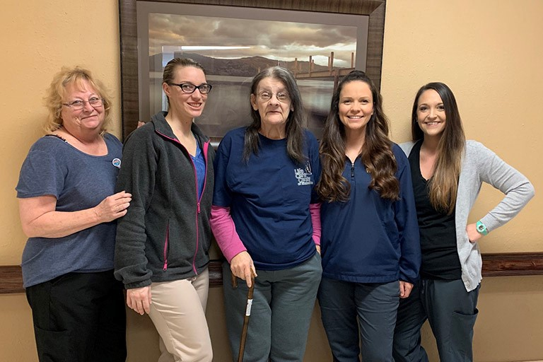 Life Care Center of Elizabethton helps Denise Blevins recover independence