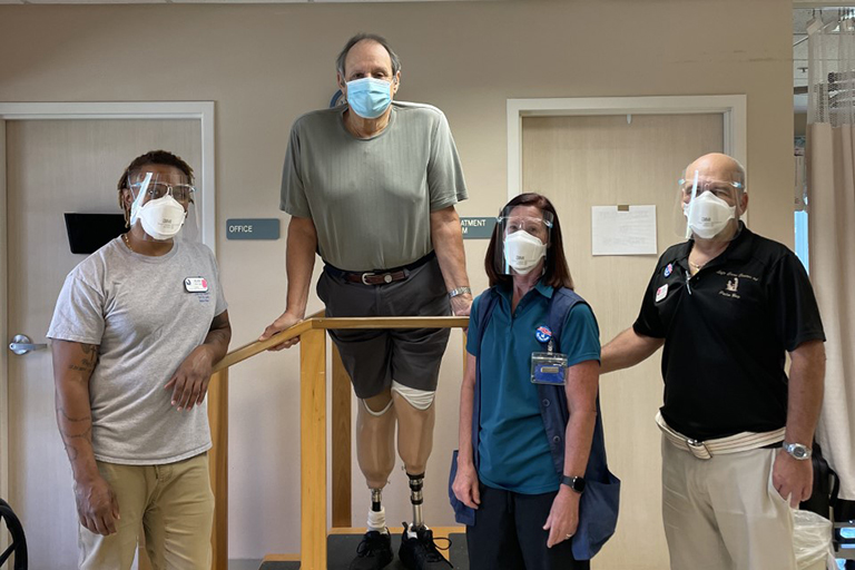 Amputee regains mobility and independence at Life Care of Port St. Lucie