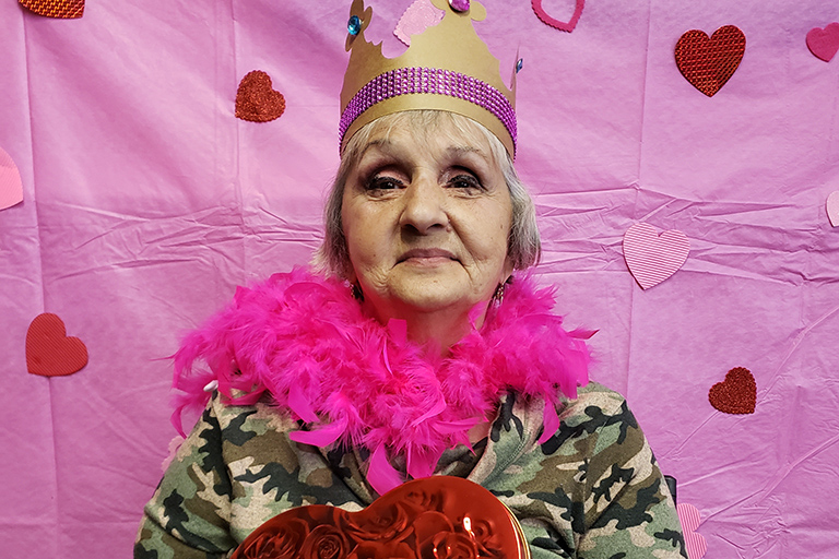 Life Care centers celebrate Valentine's Day 2020