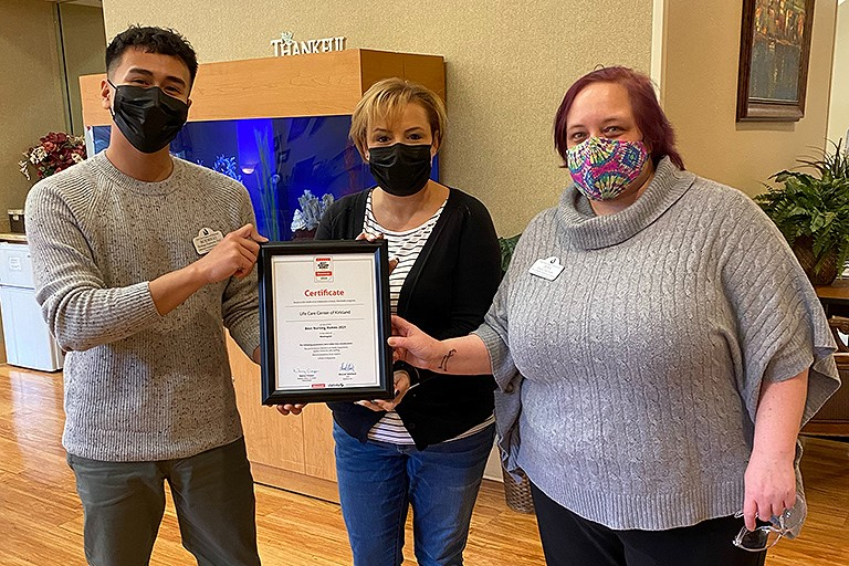 Life Care Center of Kirkland named Best Nursing Home by two publications