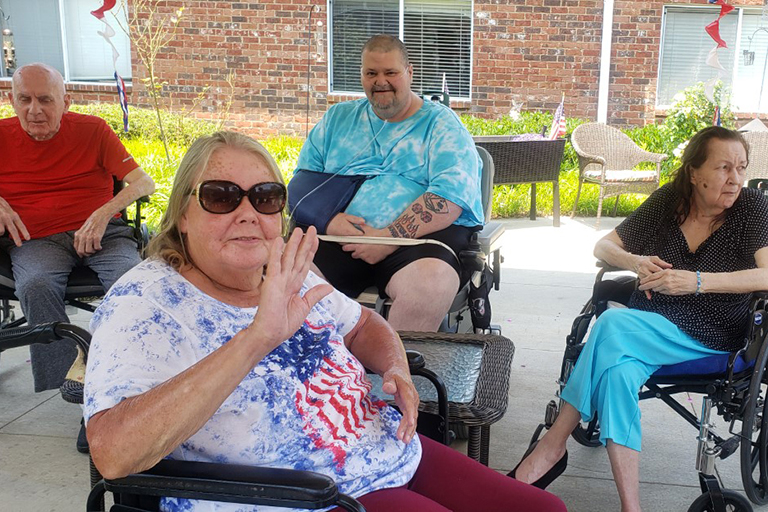 Independence Day 2021 brings high spirits across Life Care
