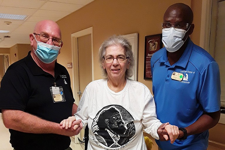 Life Care Center of Jacksonville helps Janet Gavin recover from COVID-19