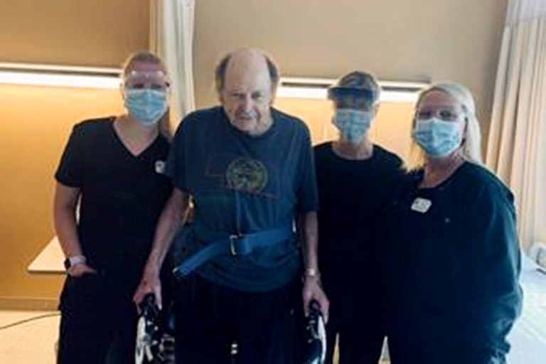 Rehab at Life Care Center of Elkhorn helps Dan Kuchta recover from COVID-19