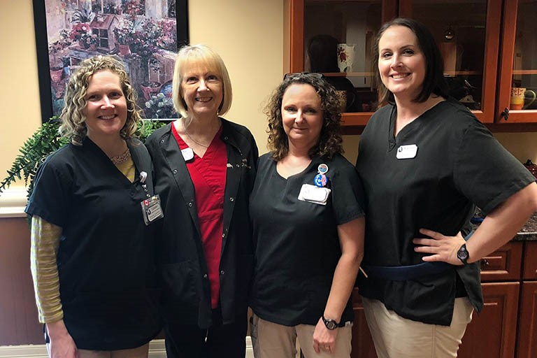 Activities director rehabs at Life Care Center of Hixson