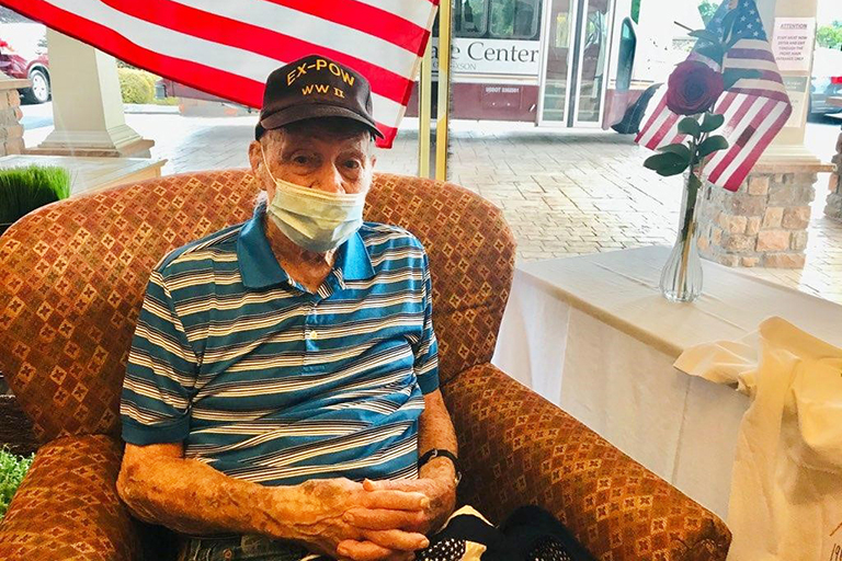 Home of Champions – An American hero resides at Life Care Center of Hixson