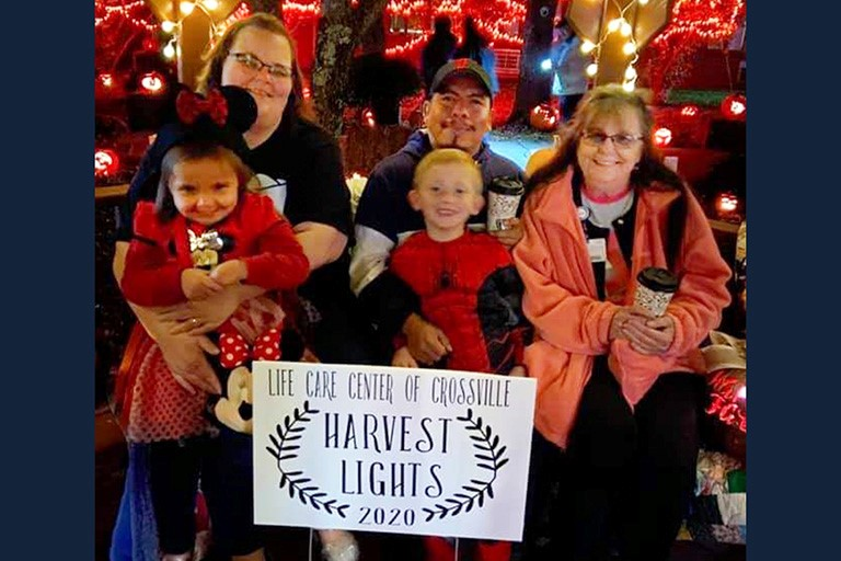 Life Care Center of Crossville's Harvest Lights makes Halloween bright