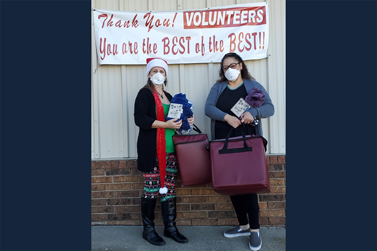 Life Care Center of Osawatomie donates blankets to local seniors