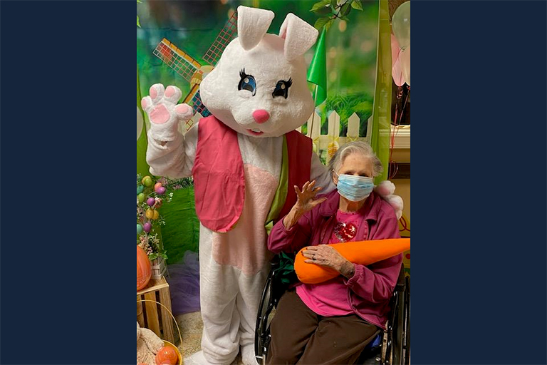 Life Care facilities' Easter celebrations extra-hoppy this year