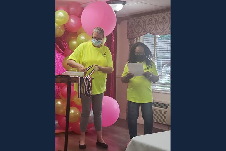 Life Care's Central Division participates in COVID Awards