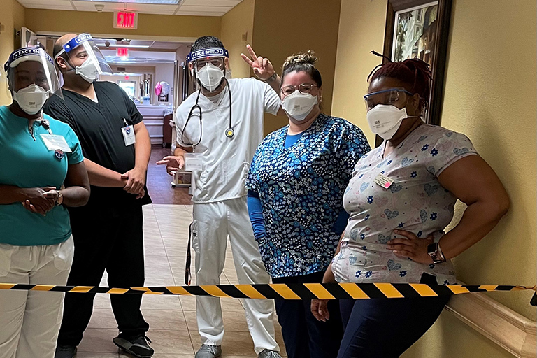 Life Care of Winter Haven confidently serves community COVID patients