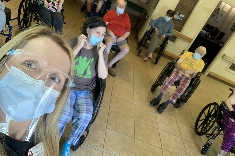 Activities at Life Care Center of Sierra Vista keep residents engaged