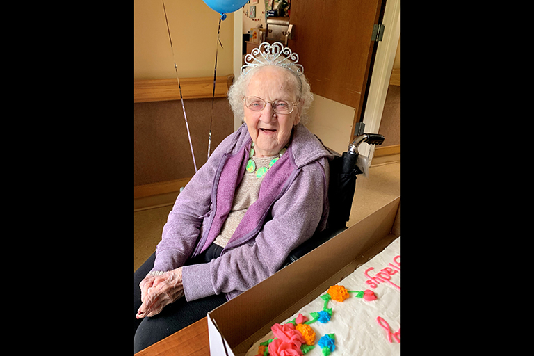 Life Care Center of New Market resident turns 100 and survives COVID-19