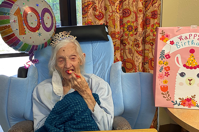 Bethel Smith celebrates 100th birthday at The Heritage Center