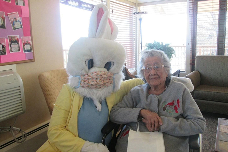 Valley View Villa celebrates resident's 105th birthday