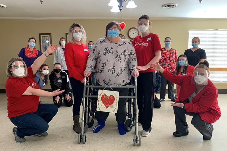 COVID-19 survivor at Life Care Center of LaGrange shares her story