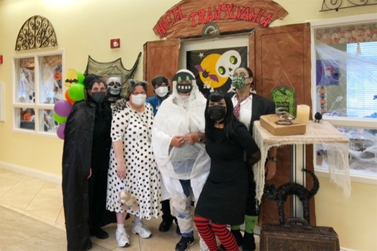 Life Care facilities make Halloween a treat