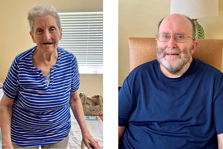 Mother and son benefit from rehab at Life Care Center of Columbia