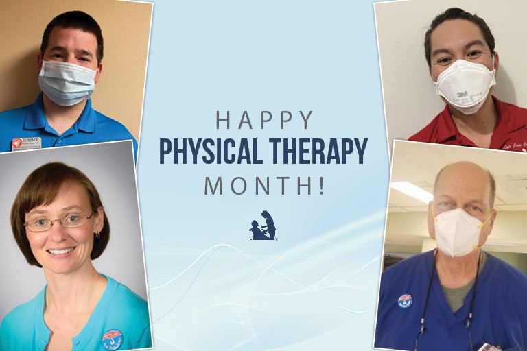 Life Care celebrates Physical Therapy Month 2021
