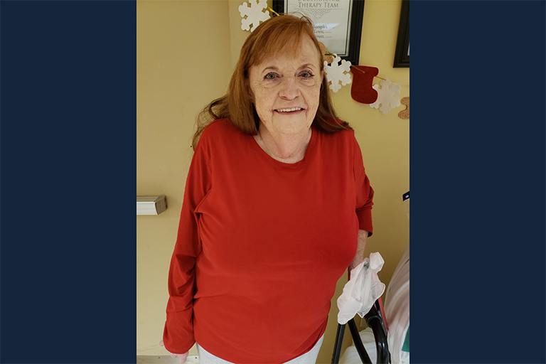 Life Care Center of Gray helps sepsis patient go from bedbound to home