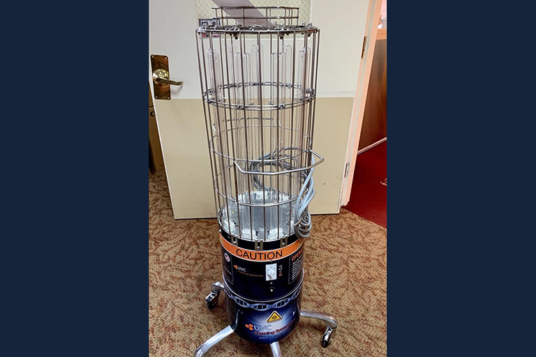 Life Care Center of Nashoba Valley gets UVC light air disinfecting device