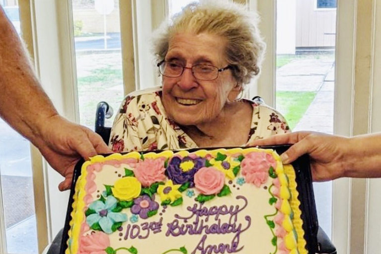 Life Care Center of Greeneville celebrates 103-year-old resident