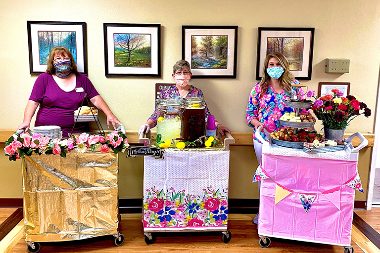 Life Care residents feel the love for Mother's Day