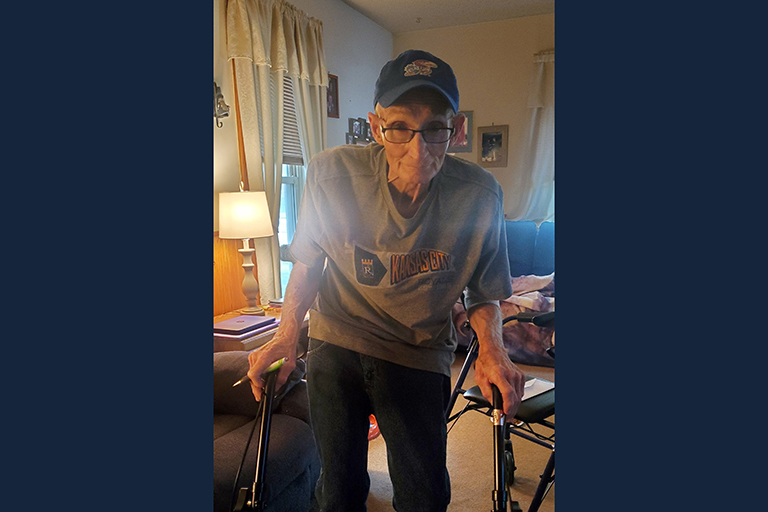 Bone infection patient heals after rehab at Life Care Center of Osawatomie