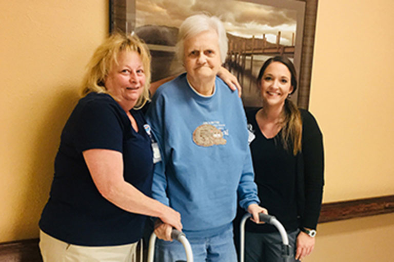 Heart attack patient recovers at Life Care Center of Elizabethton