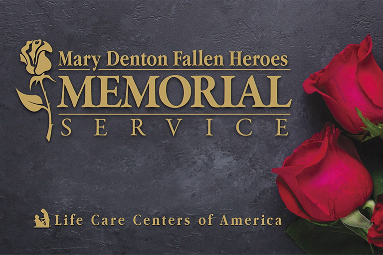 Life Care's corporate office holds memorial service for fallen associates